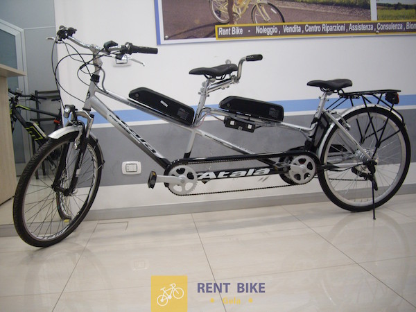 Tandem Elettrico Atala Rent Bike Gela